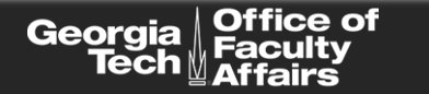GT Office of Faculty Affairs